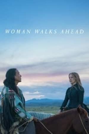 Portada La mujer que camina delante