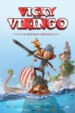 Portada Vicky el Vikingo y La Espada Mágica
