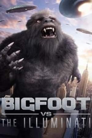 Portada Bigfoot vs the Illuminati
