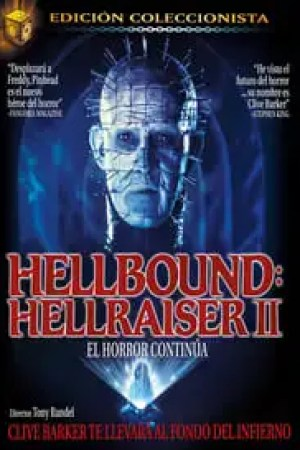 Portada Hellbound: Hellraiser II