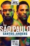 UFC Fight Night 137: Santos vs. Anders 2018