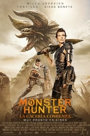 Poster de Monster Hunter (2020)