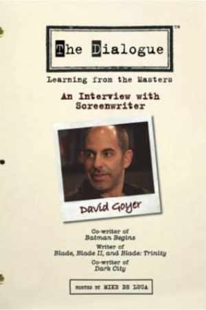 Image The Dialogue: An Interview with Screenwriter David Goyer
