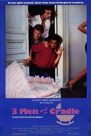 Image Three Men and a Cradle