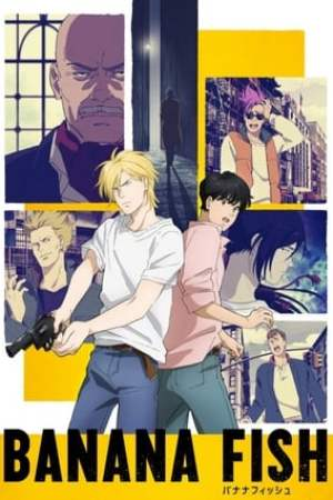 Poster Banana Fish Season 1 This Side of Paradise 2018