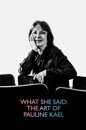 Image What She Said: The Art of Pauline Kael