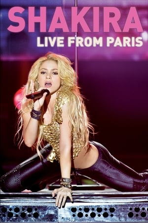 Poster Shakira: Live from Paris 2011