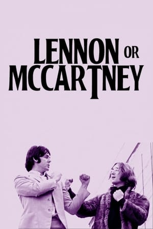 Poster Lennon or McCartney 2014
