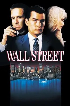Poster Wall Street 1987
