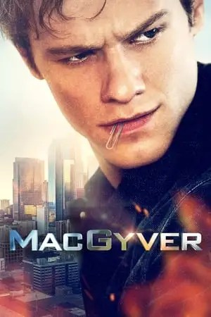 Poster MacGyver Season 5 Diamond + Quake + Carbon + Comms + Tower 2021