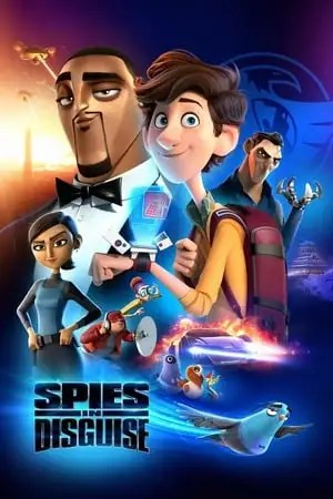 Poster Spies in Disguise 2019