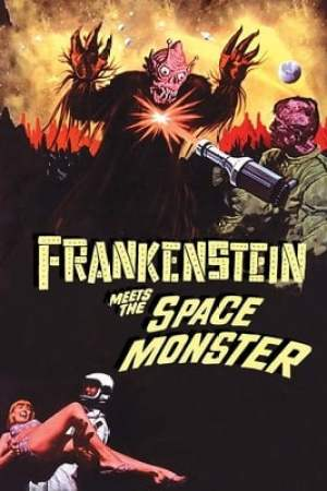 Poster Frankenstein Meets the Space Monster 1965