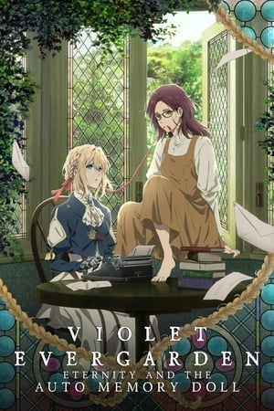 Poster Violet Evergarden: Eternity and the Auto Memory Doll 2019