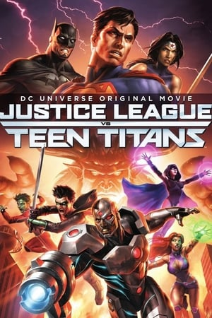 Poster Justice League vs. Teen Titans 2016