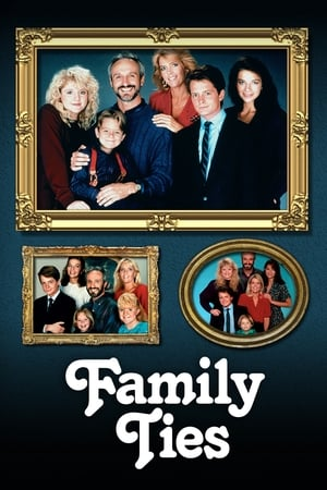 Poster Family Ties 1982