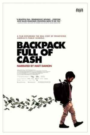 Image Backpack Full of Cash