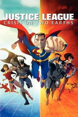 Poster Justice League: Crisis on Two Earths 2010