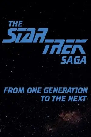 Image The Star Trek Saga: From One Generation To The Next