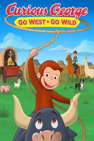 Poster Curious George: Go West, Go Wild 2020