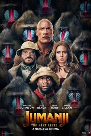 Poster Jumanji - The Next Level 2019