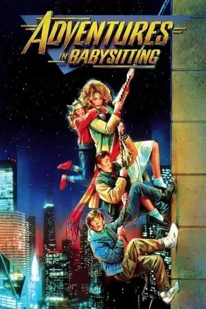 Poster Adventures in Babysitting 1987