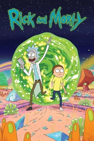 Poster Rick and Morty 2013