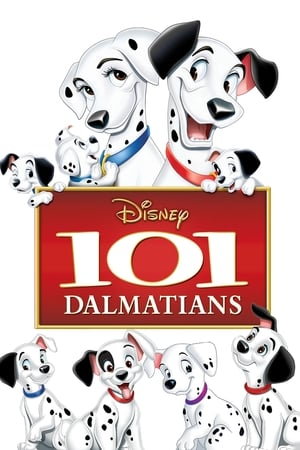 Poster One Hundred and One Dalmatians 1961