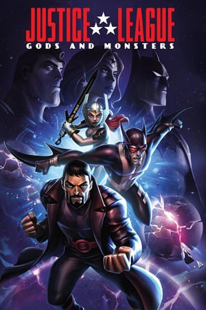 Poster Justice League: Gods and Monsters 2015