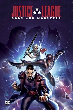 Poster Justice League: Gods and Monsters Chronicles Season 1 Twisted 2015
