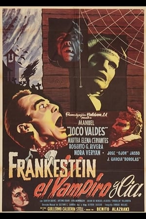 Poster Frankenstein, the Vampire and Company 1962