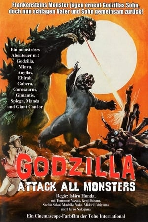 Image Godzilla: Attack All Monsters