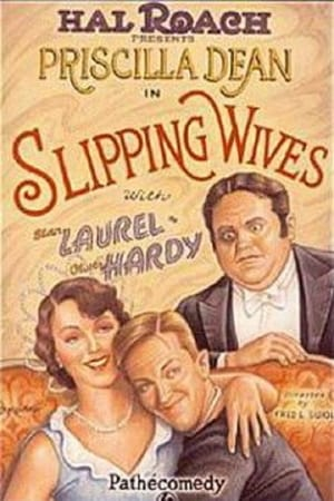 Poster Slipping Wives 1927