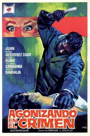 Poster Agonizing in Crime 1968