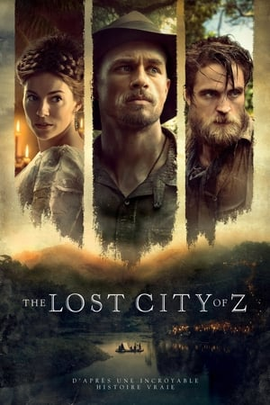 Poster The Lost City of Z 2017