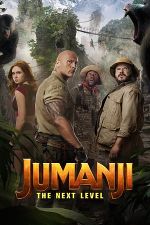 Poster Jumanji: The Next Level 2019