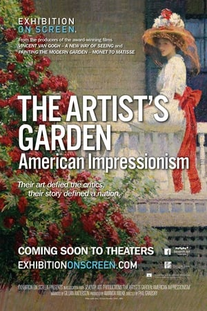 Image Exhibition on Screen: The Artist's Garden - American Impressionism