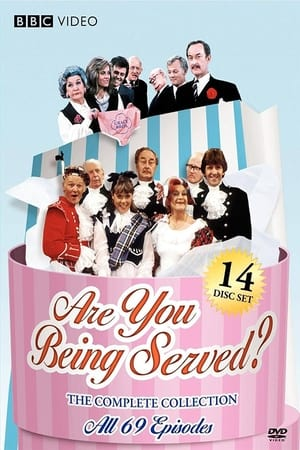 Poster Are You Being Served? 1972