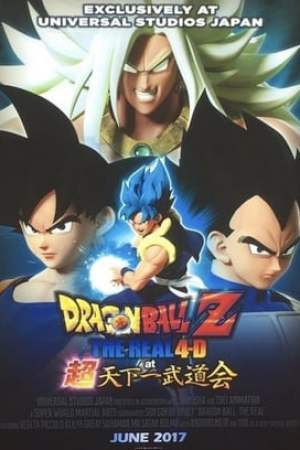Image Dragon Ball Z: The Real 4-D at Super Tenkaichi Budokai