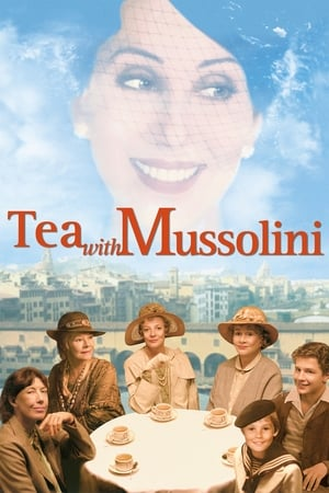 Image Tea with Mussolini
