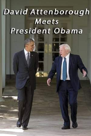 Image David Attenborough Meets President Obama