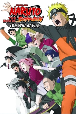 Poster Naruto Shippuden the Movie: The Will of Fire 2009