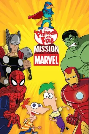Poster Phineas and Ferb: Mission Marvel 2013