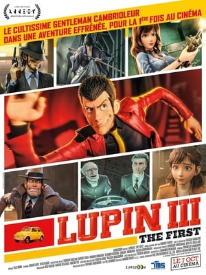 Poster Lupin III: The First 2019
