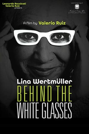 Image Behind the White Glasses