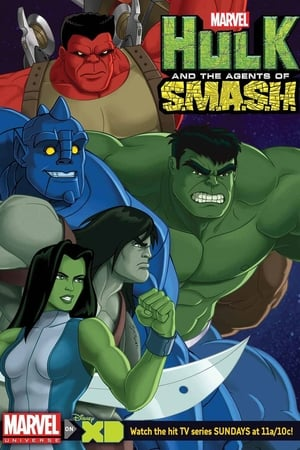 Poster Marvel's Hulk and the Agents of S.M.A.S.H 2013