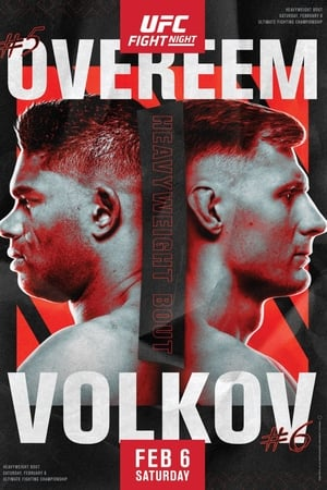 Poster UFC Fight Night 184: Overeem vs. Volkov 2021