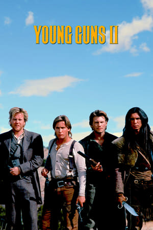 Poster Young Guns II 1990