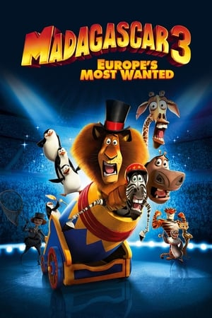 Poster Madagascar 3: Europe's Most Wanted 2012