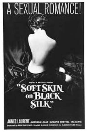 Image Soft Skin on Black Silk