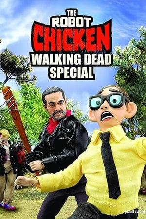 Poster Robot Chicken: The Walking Dead - Mira quién camina 2017